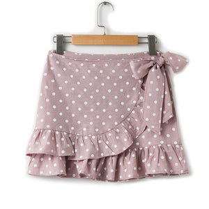 4112 - Polka Dot Bow Skirt