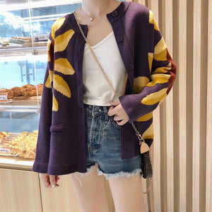 3050 - Boho Knitted Cardigan