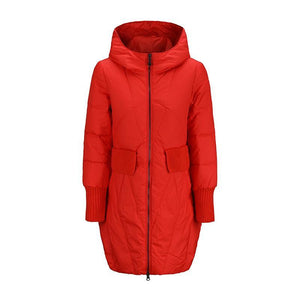 3188 - Warm Hooded Zipper Parka