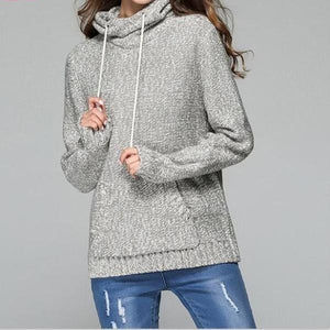 3201 - High Street Knitted Hooded Pullover