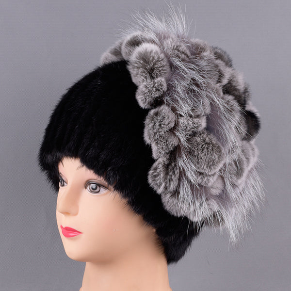 5aebb62451cfd 7555 - Hand Knitted Genuine Mink Fur Hat – Mystic Pulchritude
