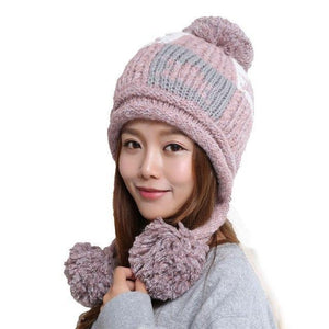 7606 - Warm Knitted Hat