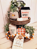 ***SOLD OUT*** Fall Tiered Tray Decor