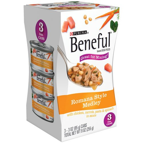Beneful Romana Style Medley Canned Dog Food 9 OZ (Pack of 8)