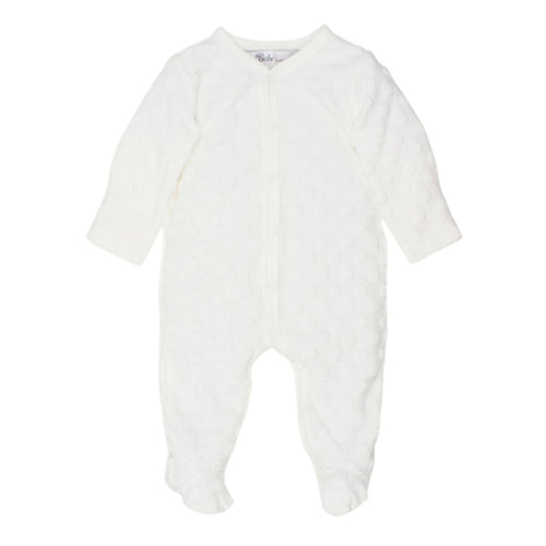Bébé Spot Layette Romper - assorted colours - www.bebebits.com.au