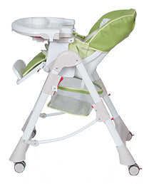 BRITAX Messina DLX Hi-Lo High Chair - Silver - CLICK & COLLECT ONLY - www.bebebits.com.au