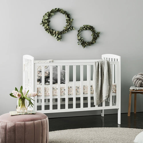 Bristol Cot + Innerspring Mattress - CLICK & COLLECT ONLY