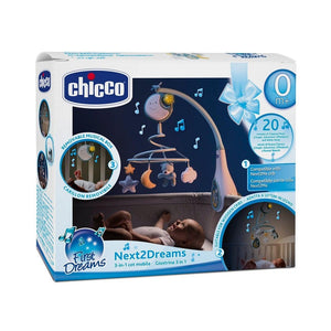 Chicco Next2Dreams Cot Mobile - CLICK & COLLECT ONLY - www.bebebits.com.au