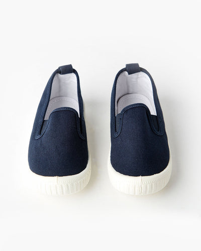 Walnut Melbourne Classic Charlie - French Navy - www.bebebits.com.au
