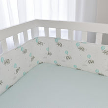 Load image into Gallery viewer, Living Textiles 2 Piece Cot Bumper Set - Dream Big - www.bebebits.com.au