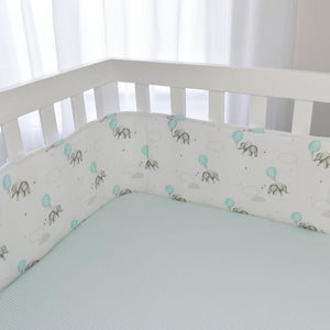 Living Textiles 2 Piece Cot Bumper Set - Dream Big - www.bebebits.com.au