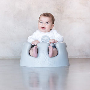 Bumbo Floor Seat - GREY - CLICK & COLLECT ONLY - www.bebebits.com.au