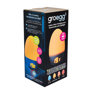 Groegg 2 Room Thermometer - www.bebebits.com.au