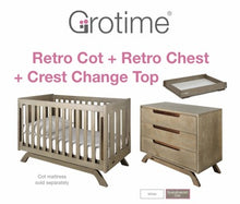 Load image into Gallery viewer, Grotime Retro Cot/Nursery Package - CLICK & COLLECT ONLY - www.bebebits.com.au