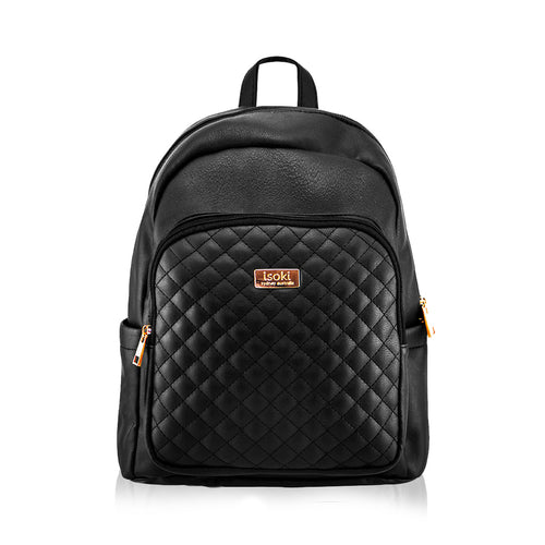 Isoki Marlo Backpack - Ebony - www.bebebits.com.au