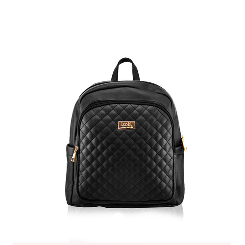 Isoki Marlo Backpack MINI - Ebony - www.bebebits.com.au