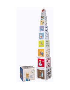 Beatrix Potter Peter Rabbit Stackable Learning Blocks - www.bebebits.com.au