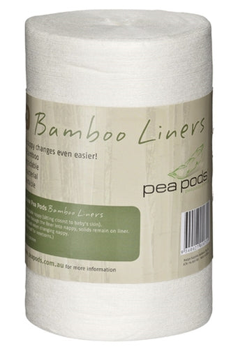 Pea Pods Disposable Bamboo Liners - www.bebebits.com.au