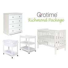 Load image into Gallery viewer, Grotime Richmond Cot/Nursery Package - CLICK & COLLECT ONLY - www.bebebits.com.au