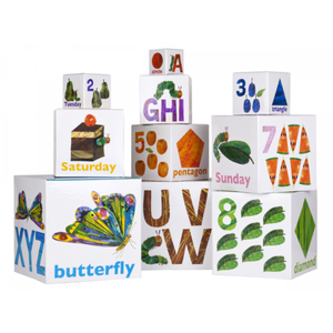 The Very Hungry Caterpillar Stackable Building Blocks