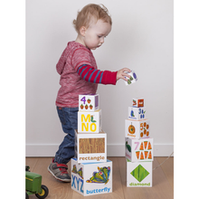 Load image into Gallery viewer, The Very Hungry Caterpillar Stackable Building Blocks