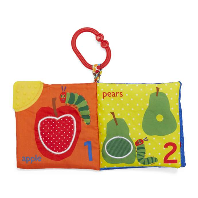 The Very Hungry Caterpillar Soft Book - Lets Count