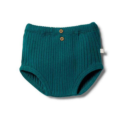W+F Organic Rib Nappy Pant - Assorted Colours