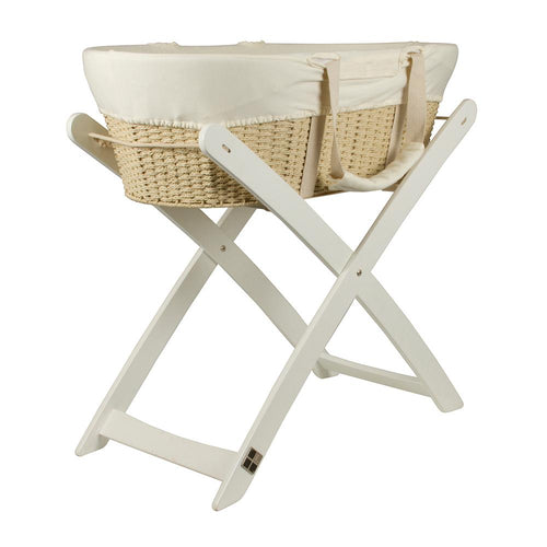 Moses Basket and Stand - CLICK & COLLECT ONLY - www.bebebits.com.au