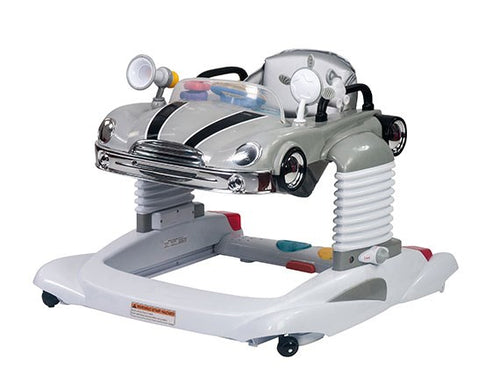 Steelcraft Beepa 4 In 1 Baby Walker - Grey - CLICK & COLLECT ONLY - www.bebebits.com.au