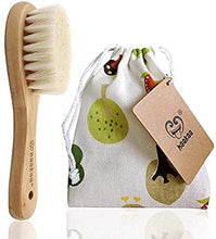 Load image into Gallery viewer, Haakaa Goat Wool Baby Brush & Comb Set