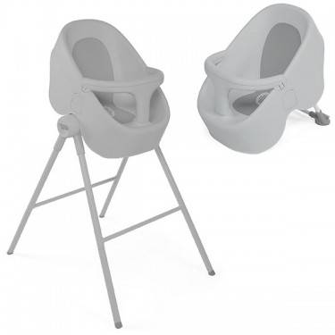 Chicco Bath Tub Bubble Nest - Cool Grey - CLICK & COLLECT ONLY - www.bebebits.com.au
