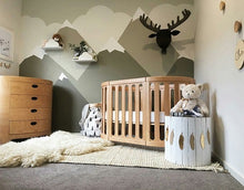 Load image into Gallery viewer, Cocoon Nest 4 In 1 Cot - includes mattress set - CLICK & COLLECT ONLY - www.bebebits.com.au
