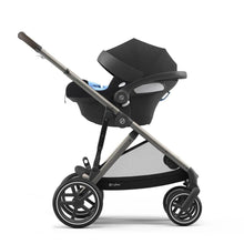 Load image into Gallery viewer, Cybex Priam 2020 Pram with Rose Gold Chassis & Stardust Black Seat - CLICK & COLLECT ONLY