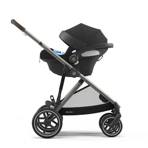 Cybex Priam 2020 Pram with Rose Gold Chassis & Stardust Black Seat - CLICK & COLLECT ONLY