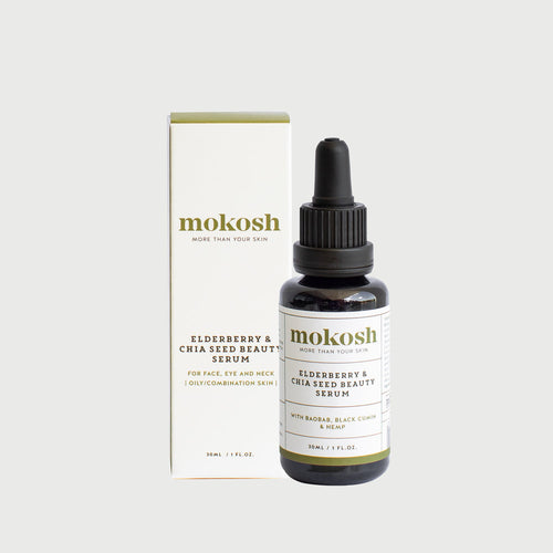 Mokosh Elderberry & Chia Seed Beauty Serum - CLICK & COLLECT ONLY