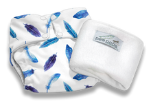 Load image into Gallery viewer, Pea Pods Reusable Nappies - assorted colours | prints
