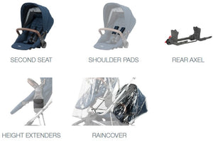 Britax Flexx™ Tandem Pack - CLICK & COLLECT ONLY - www.bebebits.com.au