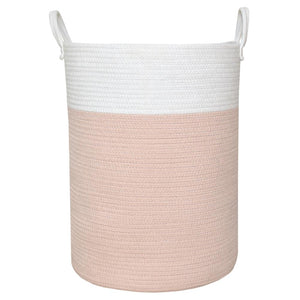 Living Textiles Cotton Rope Hamper - assorted colours - CLICK & COLLECT ONLY