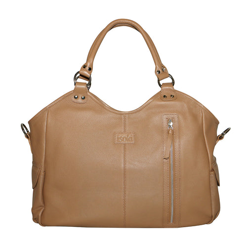 Isoki Leather Hobo Angel Queenscliff - Tan - www.bebebits.com.au