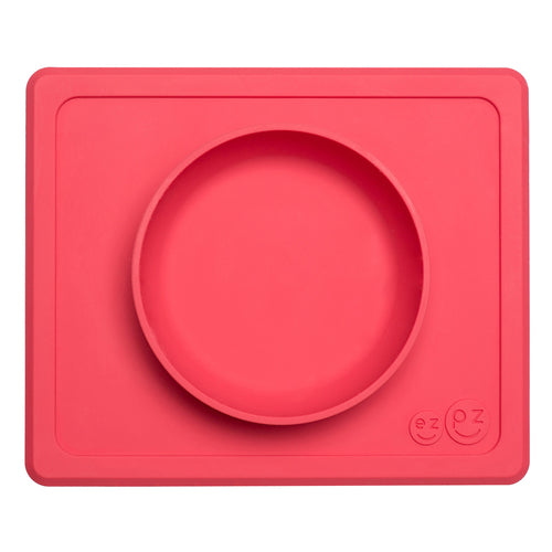 EZPZ Mini Bowl - assorted colours - www.bebebits.com.au
