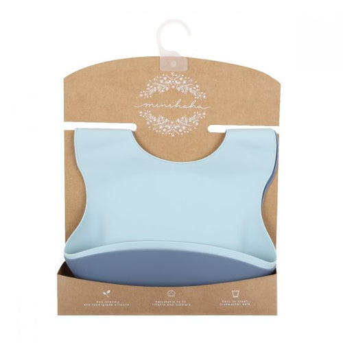 Minihaha Silicone Bibs-Assorted Colours & Prints