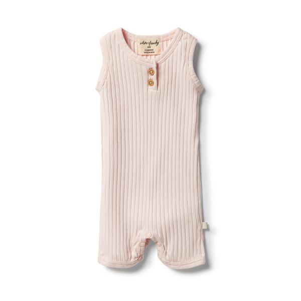 W+F Organic Growsuit - assorted colours