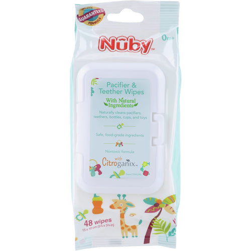 Nuby Pacifier & Teether Wipes