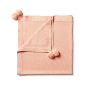 W+F Tropical Peach Blanket