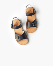 Load image into Gallery viewer, Walnut Melbourne Ryder Sandal - Navy - www.bebebits.com.au