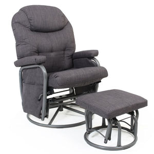 Valcobaby Seville Glider & Ottoman - CLICK & COLLECT ONLY
