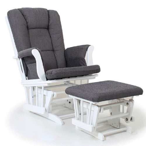 Valcobaby Bliss Glider & Ottoman - CLICK & COLLECT ONLY - www.bebebits.com.au