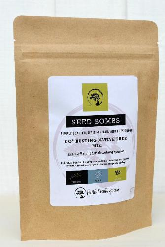 Co2 Busting Native Tree Seed Bombs