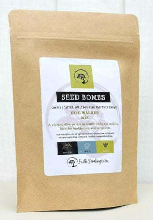 Dog Walker Seed Bombs