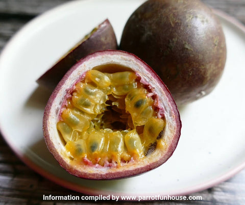 Safe fruits for birds passionfruit seeds